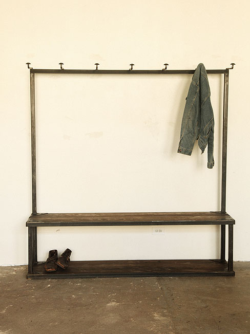 Coat Rack Bench | Strawser & Smith