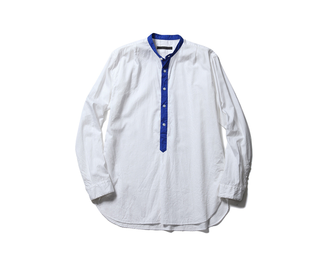 SOPHNET. | PRODUCT | BAND COLLAR PULLOVER LONG SHIRT