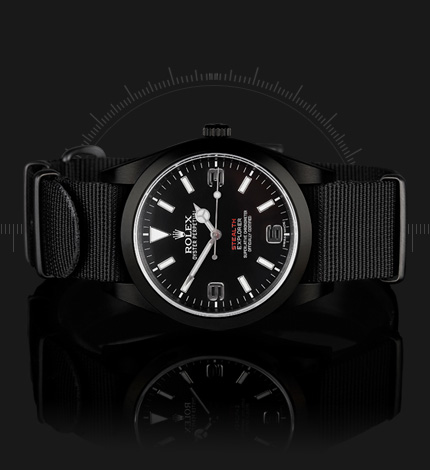 PROJECT X LIMITED EDITION STEALTH MK V customized ROLEX 214270