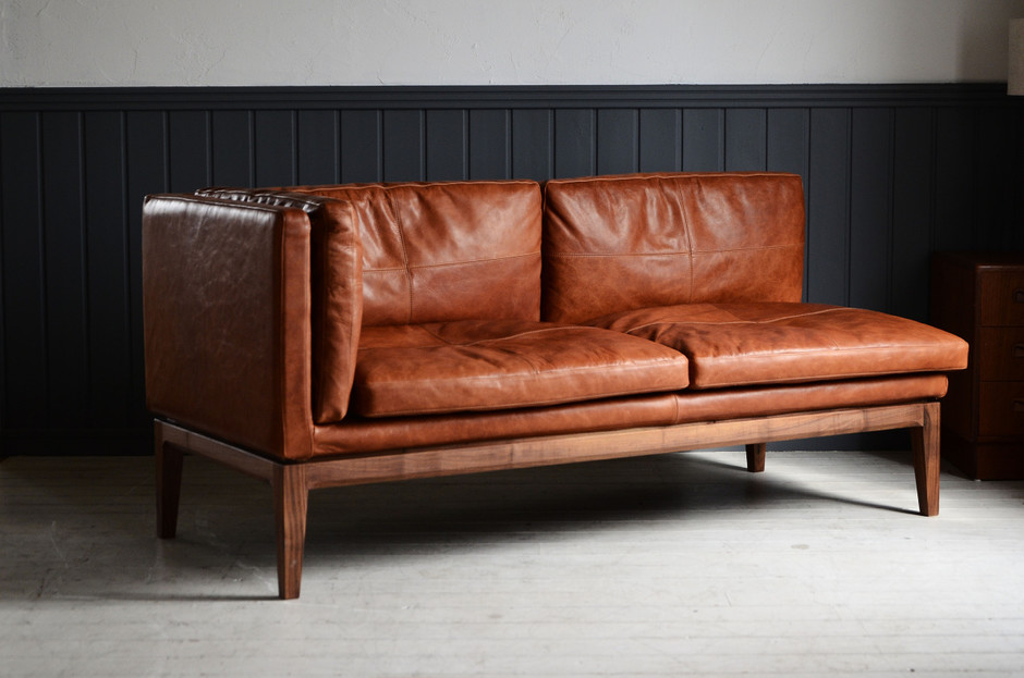 ANTRY NEW ARRIVAL — PERCHE LEATHER SOFA...