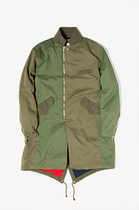 TRAVELER COAT COTTON MILITARY CLOTH for FLAPH|JACKETS & COATS|COVERCHORD