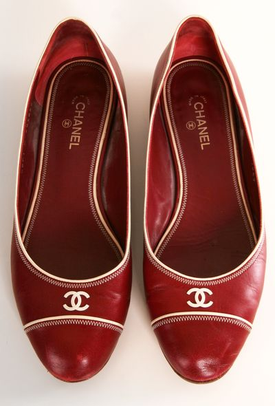 Shoes / Red Chanel