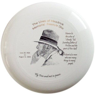 Steady Ed ashes disc, get it while you can! - www.DiscGolfersR.Us