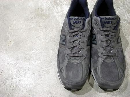 [Return] New balance M991 UK by Nubuck material « garage横欧 + spares*
