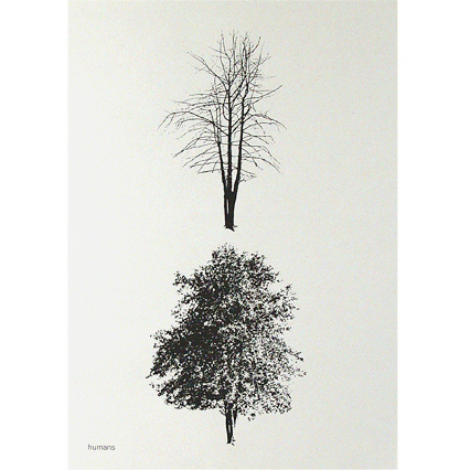 trees poster - HUMANS 02 COLLECTION | Humans by Mike Mills