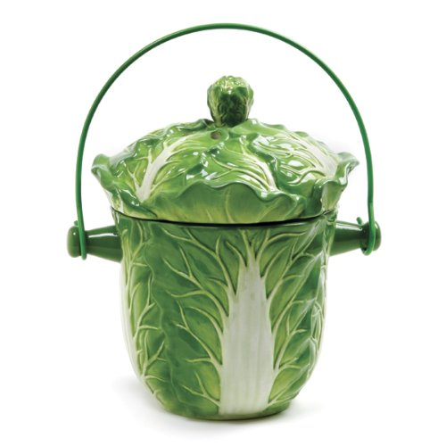 Norpro Lettuce Compost Keeper 90, Ceramic Keepers, Compost Keepers, Kitchen Appliances: Norprowebsto