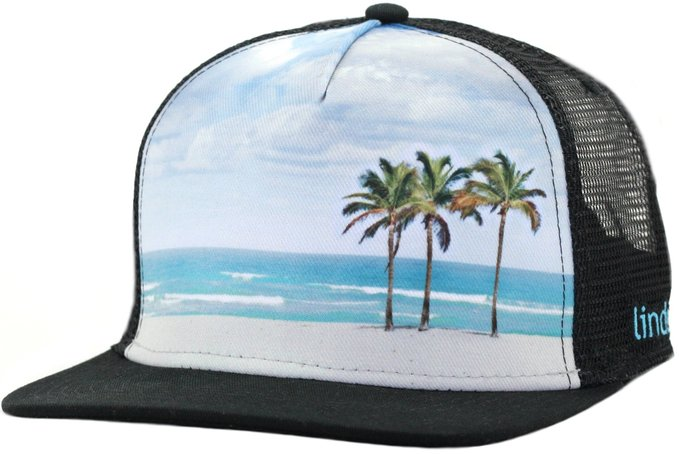 Cool Trucker Hat - The Beach Series by Lindo at Amazon Men's Clothing store: