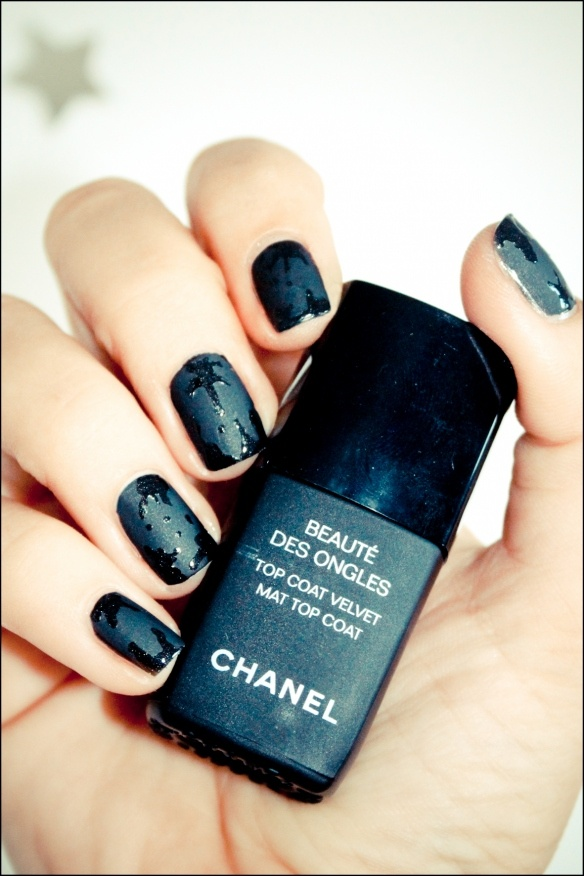 Nails / how to splatter