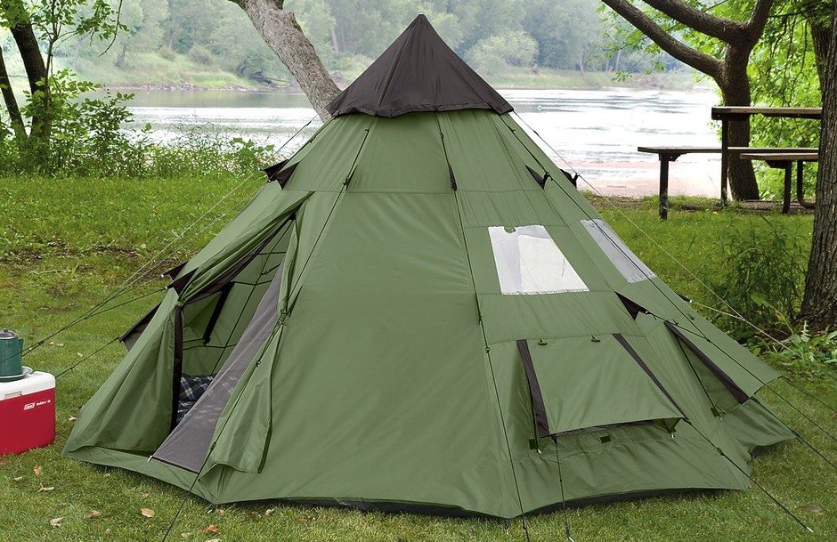 Amazon.com: Guide Gear 10x10' Teepee Tent: Sports & Outdoors