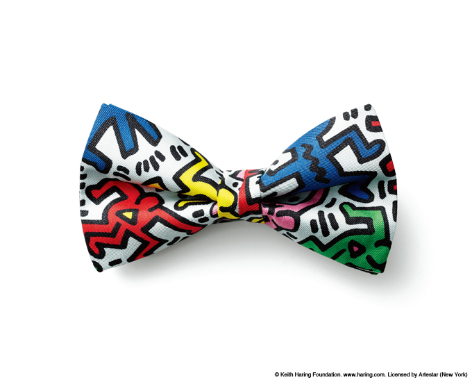 uniform experiment   PRODUCT   KEITH HARING BOW TIE
