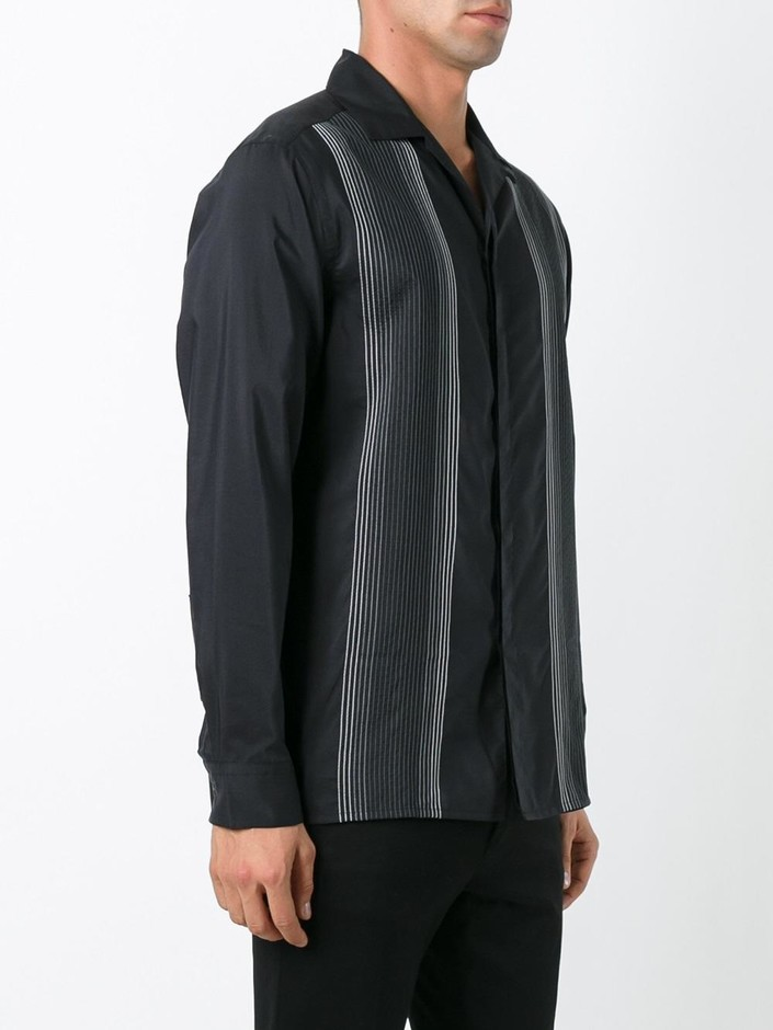 Lanvin Embroidered Stripe Shirt - Ln-cc - Farfetch.com