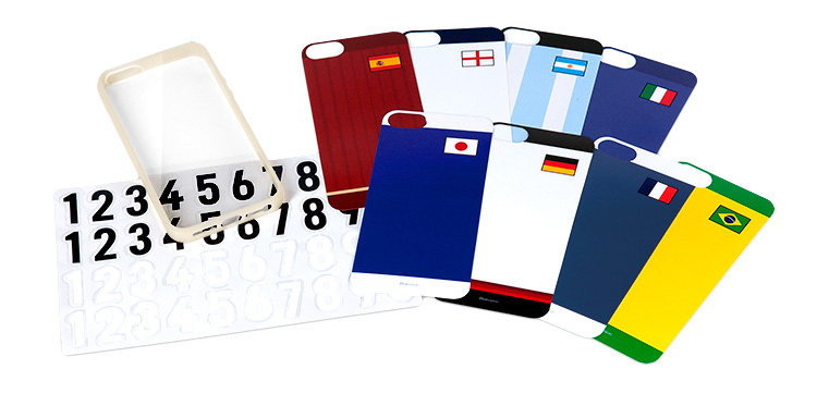 Bluevision Composite for iPhone 5s/5 World Cup Edition   Pleiades
