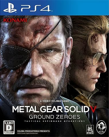 NCSX Video Games and Toys:  PS3/PS4 Metal Gear Solid V: Ground Zeroes - Import Preorder