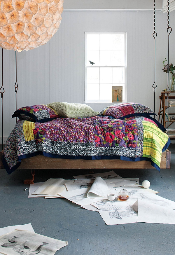 Hanging Bed by Anthropologie Barnwood Bed by Anthropologie – FurnitureMagz.Com