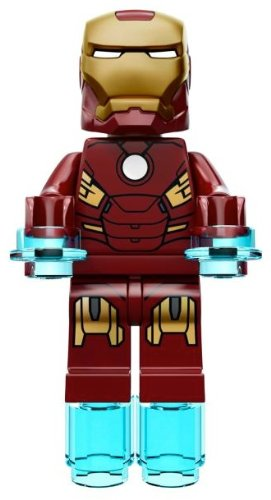 Amazon.com: Lego Hero's Ironman Mini Figure 2012 (Loose, Not a Set) Authentic Lego Mini Figure: Toys & Games