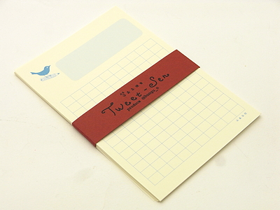 Twitterを原稿用紙に移し替えた洒落心 [男のこだわりグッズ] All About