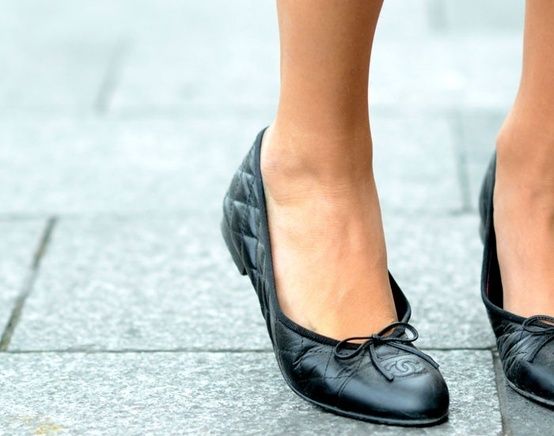 chanel ballet flats | Shoes | Pinterest