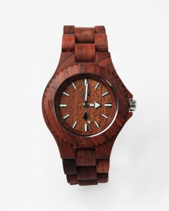 【LASO】▲ WEWOOD ▲Date Watch - Brown ウィーウッド