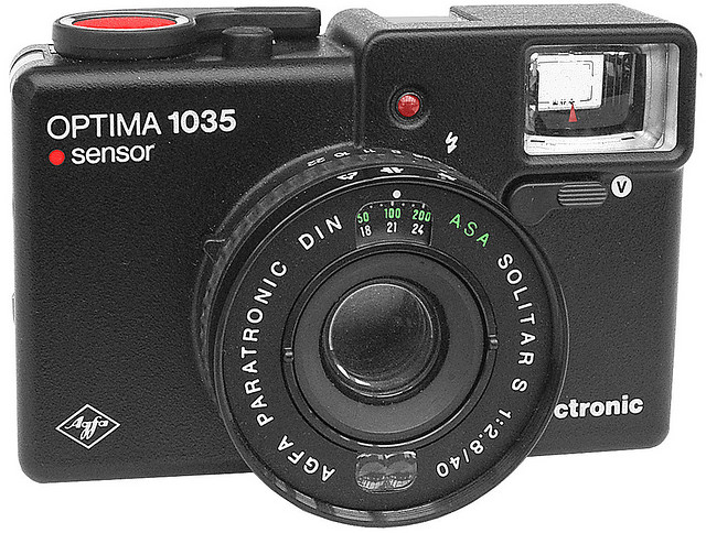 Agfa Optima 1035 Sensor electronic | Flickr - Photo Sharing!