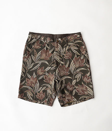 VOO SPECIAL FLORAL SHORTS [BROWN] - ANACHRONORM アナクロノーム THE SUPERIOR LABOR JIGSAW VOO VINTAGE などの通販 RADICAL