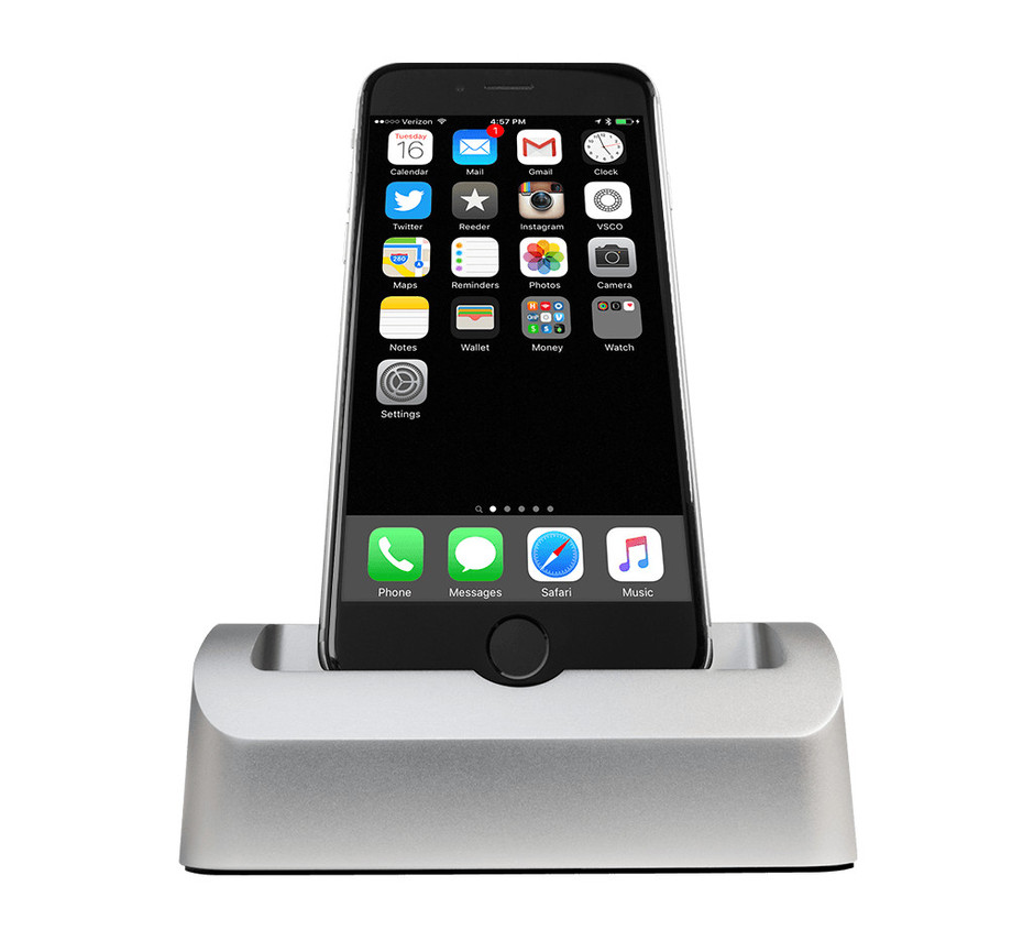 Elevation Dock 3 - iPhone Dock for 6 & 6+ with Lightning cord included – ElevationLab