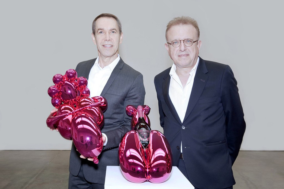 Jeff Koons Designs Dom Perignon Bottles In New Collaboration | Hypebeast