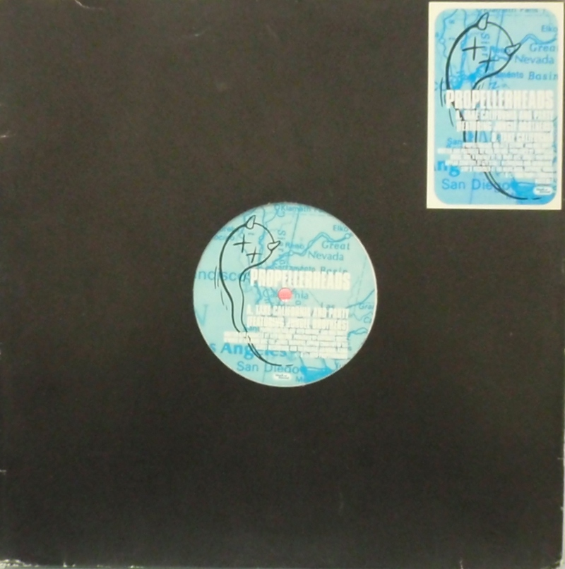 PROPELLERHEADS / TAKE CALIFORNIA AND PARTY WALL OF SOUND 12inch Vinyl record 中古レコード通販