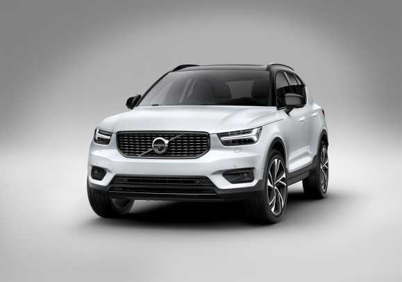Volvo introduces its first compact SUV, the XC40 - Acquire