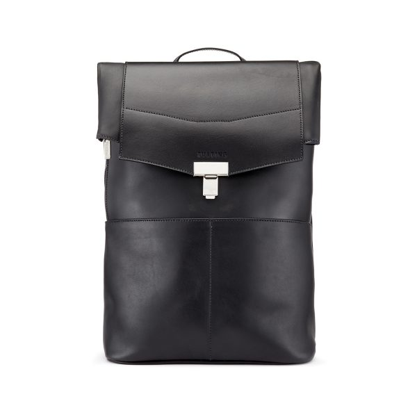 Gainsborough Roll-Top Leather Backpack | Made in England by Tusting