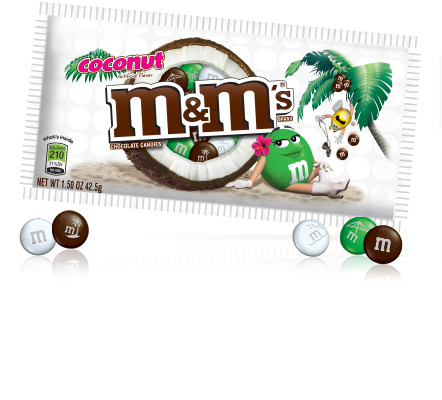 M&M'S® About M&MS®: Products: Coconut