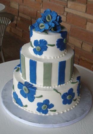 Combination  Wedding Cakes- Sedona Cake