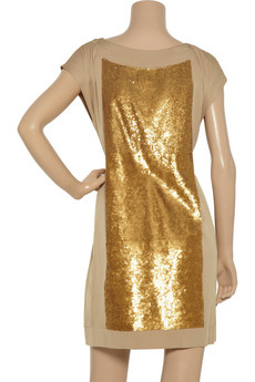 Robert Rodriguez Sequined silk-blend dress - 60% Off Now at THE OUTNET