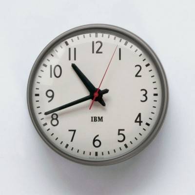 "1960s IBM 13.5"" Standard Issue Clock - Office - Home & Office"
