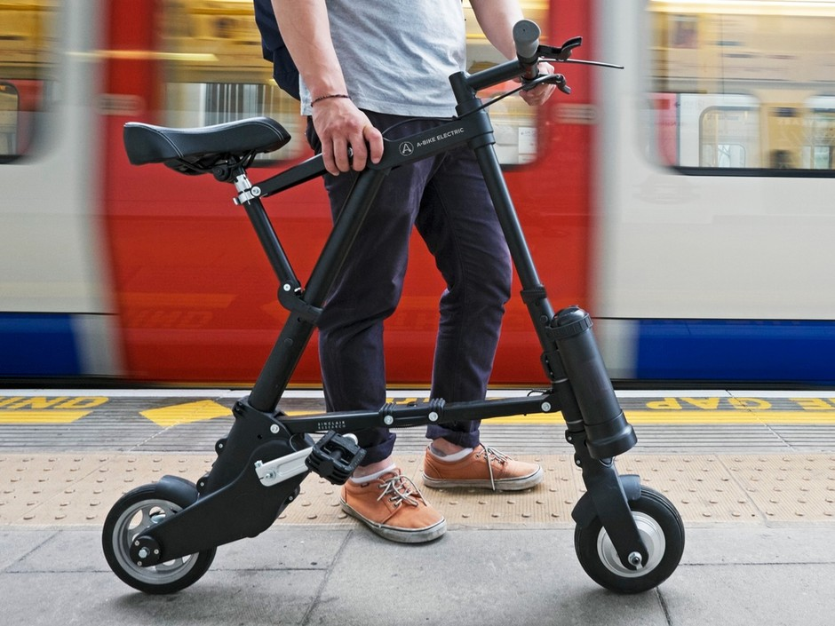 A-Bike Electric: The lightest and most compact electric bike by A-Bike Electric — Kickstarter