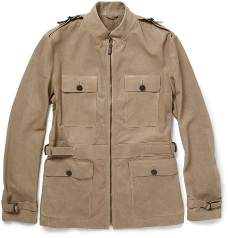Bottega Veneta Washed Nappa Leather Safari Jacket | MR PORTER
