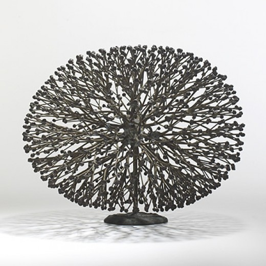 113: Harry Bertoia / untitled (Bush Form) < Modern Design, 07 October 2007 < Auctions | Wright