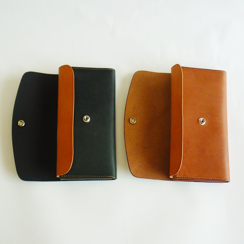 MOTO New Long Wallet - Solid - Silver and Gold Online Store