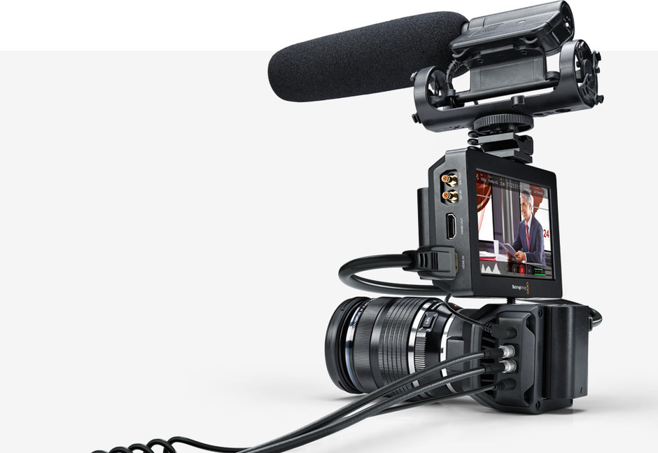 Blackmagic Design: Blackmagic Micro Studio Camera 4K デザイン