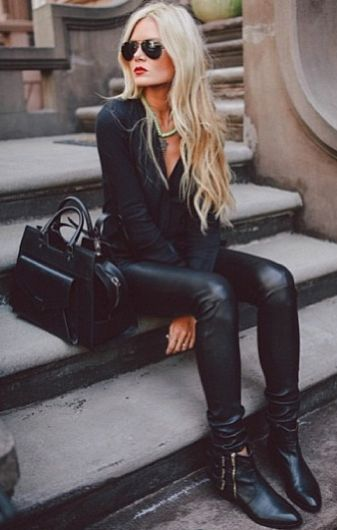 all BLACK outfit !!! / All black