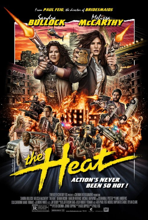 The Heat Movie Poster #4 - Internet Movie Poster Awards Gallery