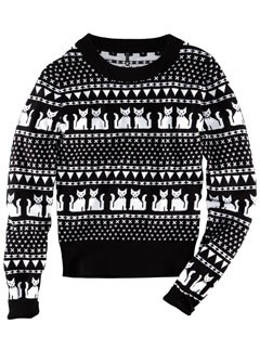 Buy of the Day - H&M cat print jumper