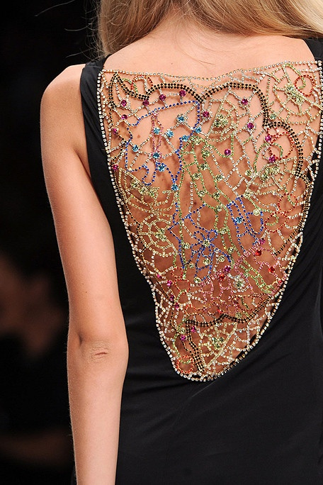 Enrico Coveri - Spring 2011   The Devil Is In The Detail!
