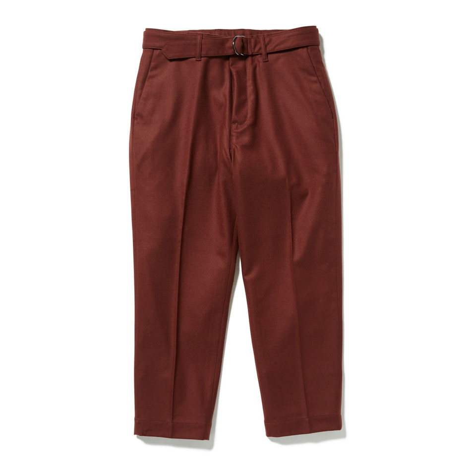 BELTED PANTS|HEAD PORTER PLUS|HEAD PORTER ONLINE|ヘッド ポーター オンライン