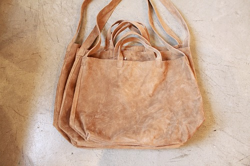 SUNSHINE + CLOUD GHOST DANCE SUEDE TOTE BAG - BLANCBLEU BLUEPOINT