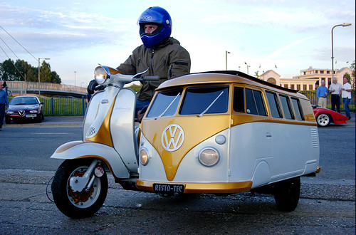 The VW Motorcycle Sidecar | Motorcycle.com News