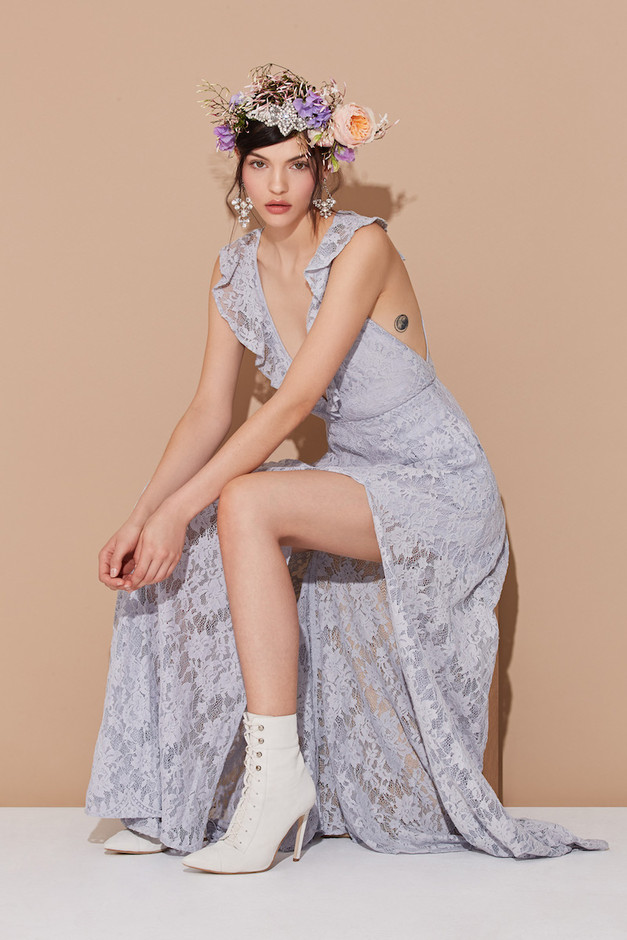 Centerpieces: The Romantics Lace Looks for Spring 2015 – NAWO