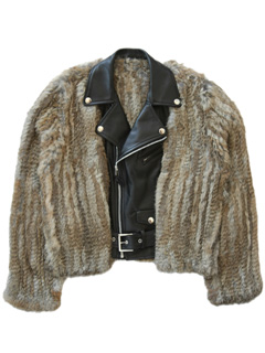 LOVE online store|WOMEN   Leather Fur Jacket