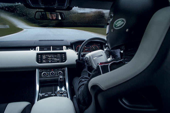 Range Rover Sport SVR – The fastest and most powerful Land Rover with all-terrain capability.