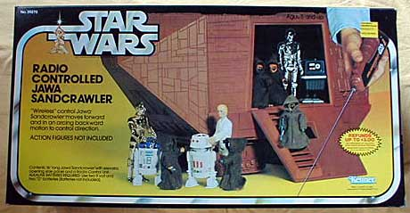 Radio Controlled Jawa Sandcrawler - Star Wars Collectors Archive