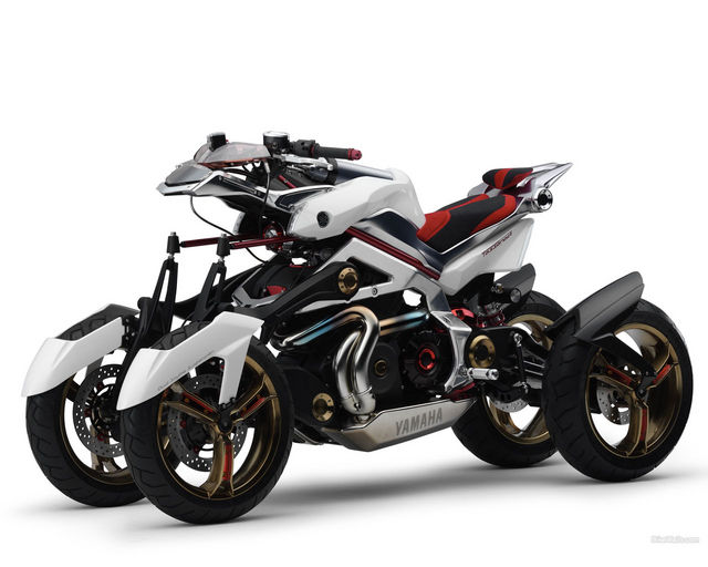 Motology: Yamaha Tesseract Being Developed for Production?
